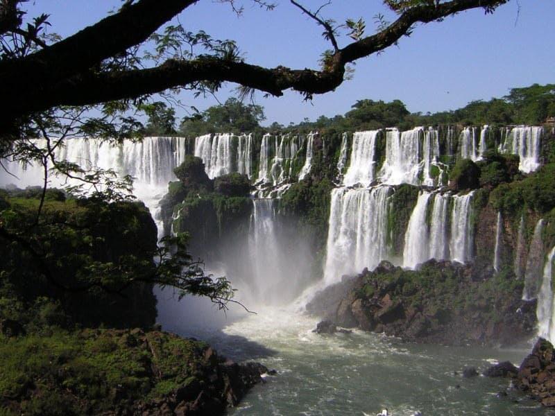 Die tollen und riesigen Iguazú Wasserfälle haben es mir sehr angetan