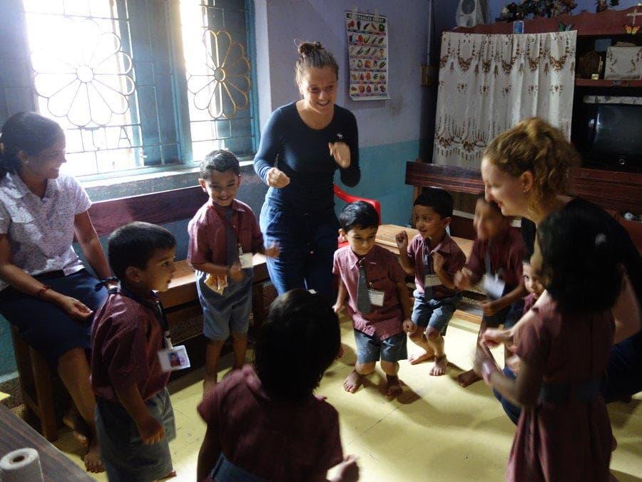 Erfahrungsbericht Freiwilligenarbeit in Indien von Tabea