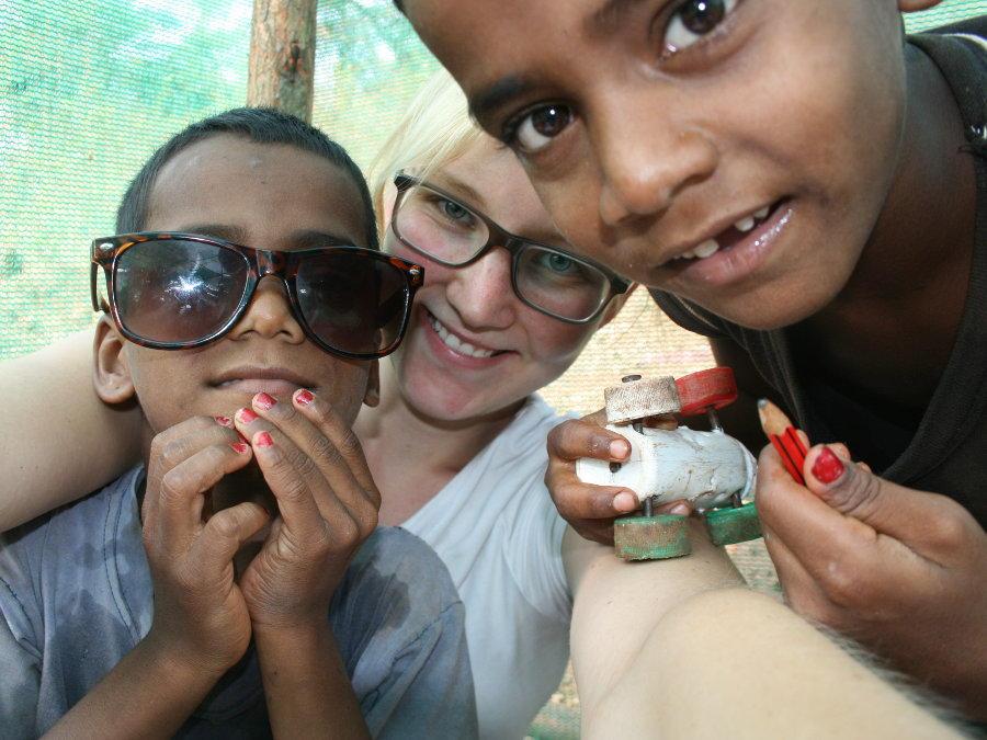 Erfahrungsbericht Freiwilligenarbeit in Indien von Mareen