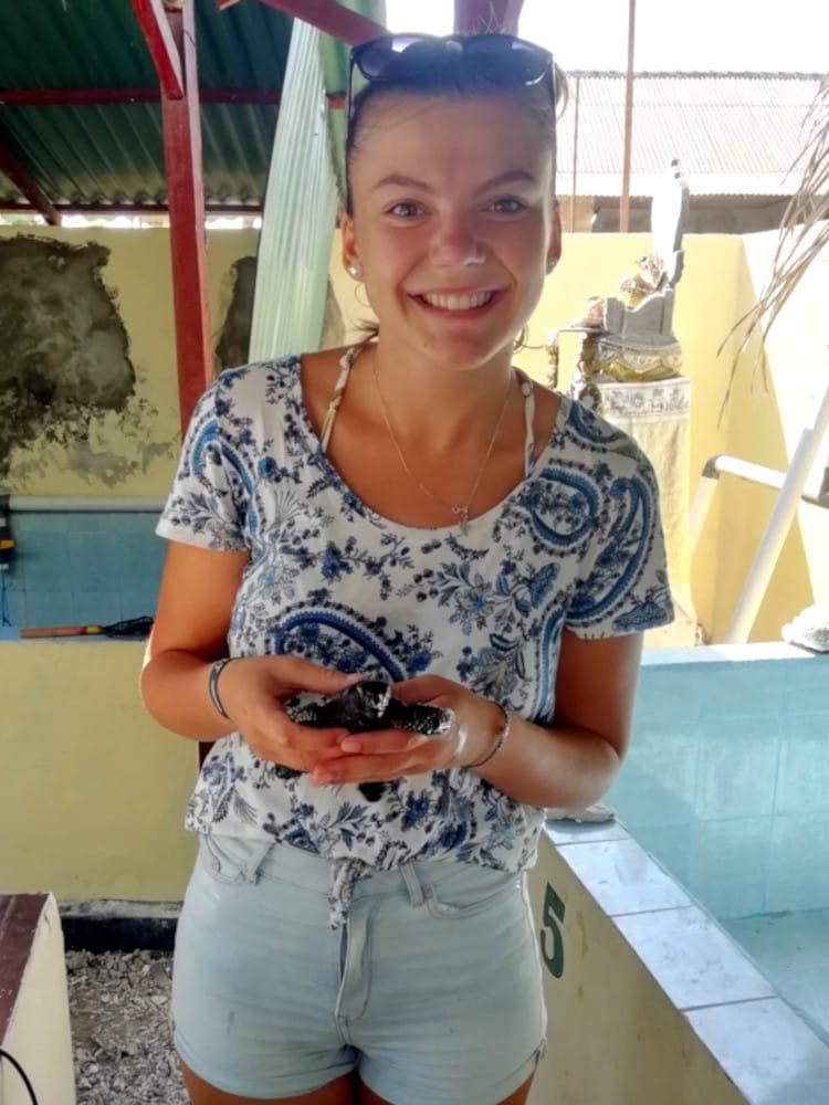 katharina freiwilligenarbeit indonesia