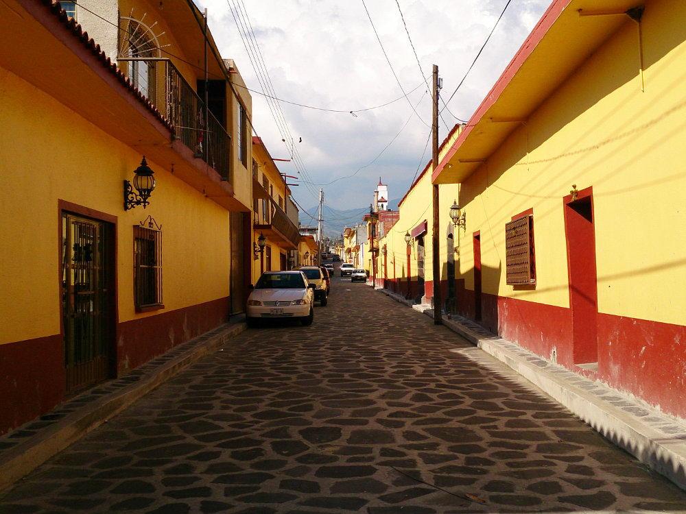 Johannes Praktikum in Mexiko